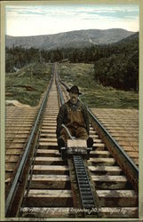 Track Inspector, Mt. Washington Railway