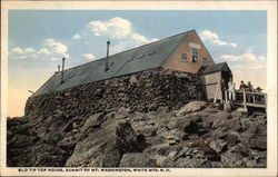 Old Tip Top House, Summit of Mt Washington