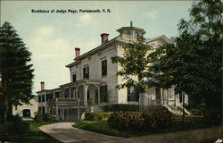 Residence of Judge Page