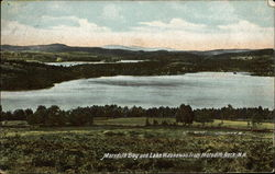 View of Meredith Bay and Lake Waukewan
