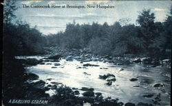 A Babbling Stream - The Contoocook River