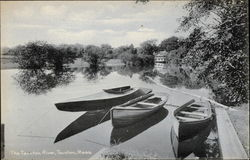 Boats on the Taunton River