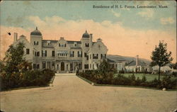 Residence of HL Pierce and Grounds