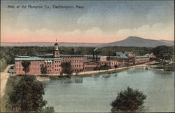 Bird's Eye View of Mills of the Hampton Company