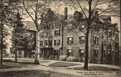 Porter Hall at Mount Holyoke College