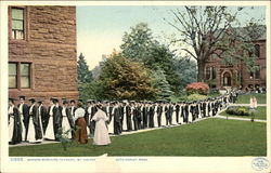 Mount Holyoke College - Seniors Marching to Chapel
