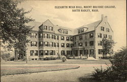Elizabeth Mead Hall at Mount Holyoke College