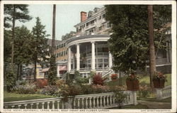 Hotel Aspinwall, West Front and Flower Garden