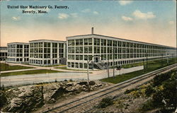 United Shoe Machinery Company Factory