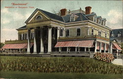Beachmond, Residence of Benjamin Thaw