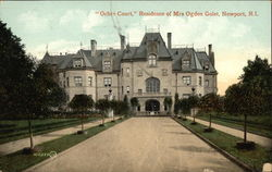 """Ochre Court"" - Residence of Mrs Ogden Golet"