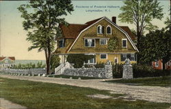 Residence of Frederick Hallworth