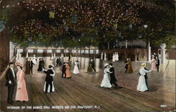 Interior of the Dance Hall, Rhodes on the Pawtuxet