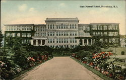 View of State Normal School and Grounds