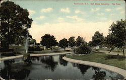The Pond - Oak Grove Cemetery
