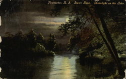 Slater Park - Moonlight on the Lake