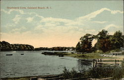Water View at Brushneck Cove Postcard