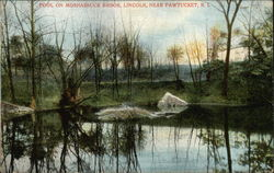 Pool on Moshassuck Brook near Pawtucket