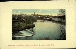 Bird's Eye View of Central Falls, from Middle Street