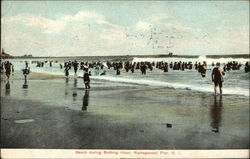 Beach during Bathing Hour