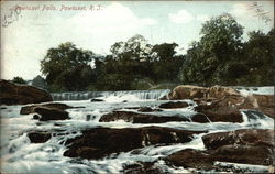 Pawtuxet Falls - Water & Rocks