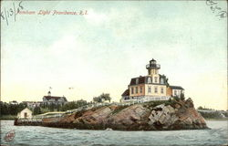 Pomham Light and Water View