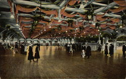 Interior of the Dance Hall, Rhodes-on-the-Pawtuxet