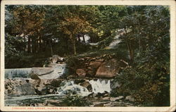 Water Cascade and Grove, Hunts Mills