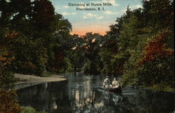 Canoeing at Hunts Mills