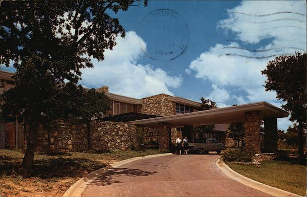 Entrance To American Airlines Stewardess College Amon
