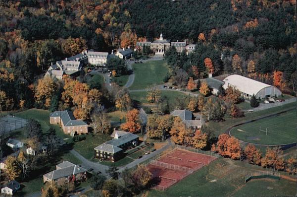 Aerial View of Berkshire School Sheffield Massachusetts