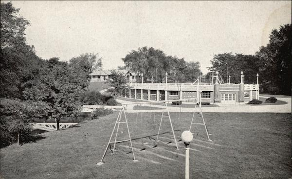 James Whitcomb Riley Memorial Park The Pool And Children 39 S Playground Greenfield In
