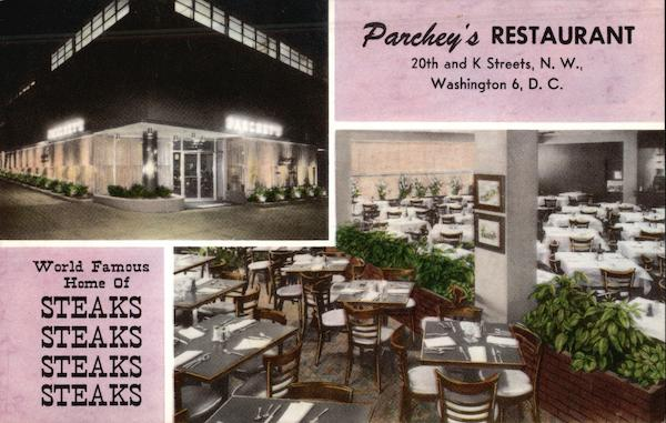 Parchey's Restaurant Washington District of Columbia