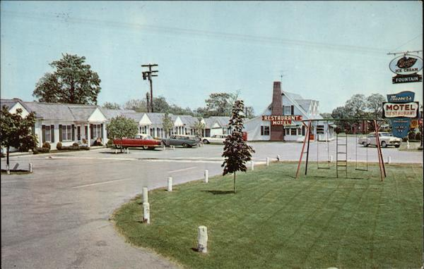 Masser's Motel & Restaurant, Route 40 - West Frederick Maryland