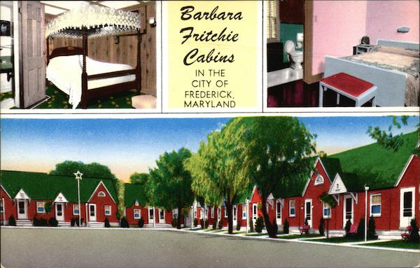 Barbara Fritchie Tourist Cabins Frederick Maryland