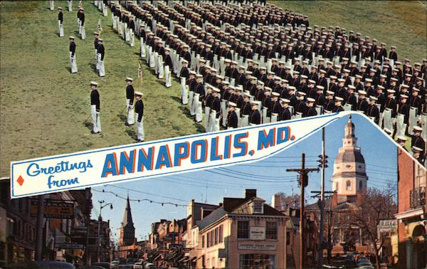 The capital of Maryland Annapolis