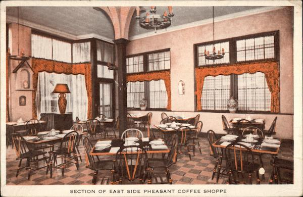 Section of East Side Pheasant Coffee Shop Providence Rhode Island