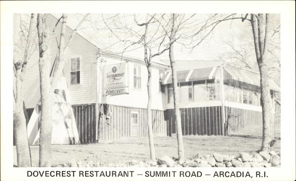 Dovecrest Restaurant on Summit Road Arcadia Rhode Island