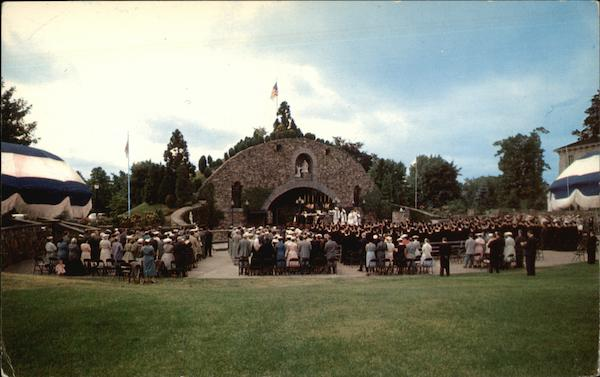 Providence College - War Memorial Grotto Rhode Island