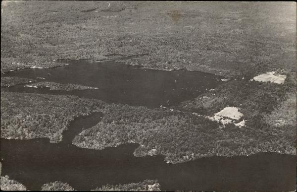 Camp Yawgoog From the Air Rockville Rhode Island