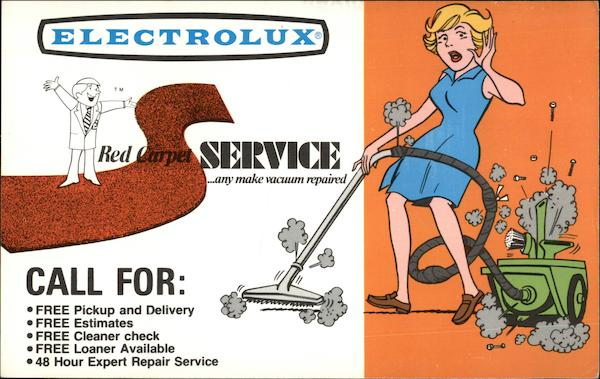 Electrolux Red Carpet Service - And Make Vacuum Repaired