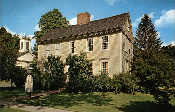 Wells-Thorn House Deerfield Massachusetts