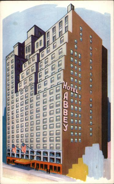 Abbey Hotel - 51st Street East of 7th Avenue New York