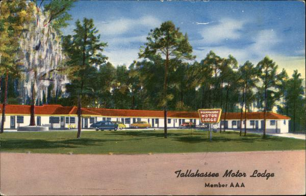Tallahassee Motor Lodge Florida