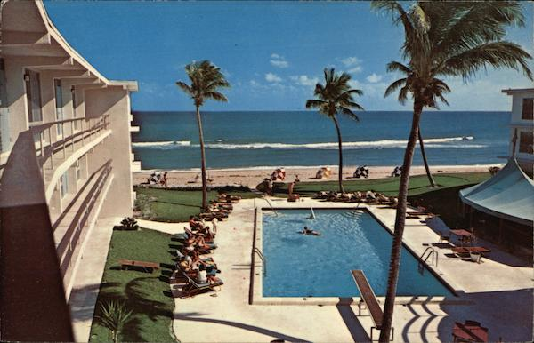 The Barefoiot Mailman Hotel & Beach Club Pompano Beach Florida