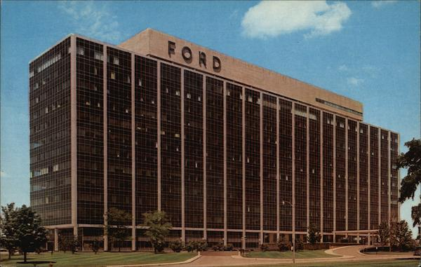 Ford motor company central office building dearborn mi for Ford motors corporate office