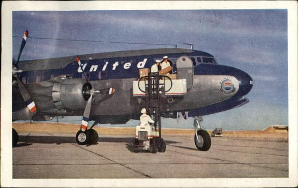 United DC-6 Mainliner 300 Aircraft