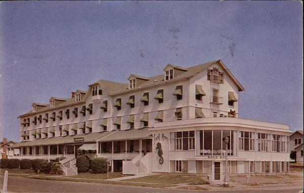 The Tremont Hotel Directly On Oceanfront Sea Girt New Jersey