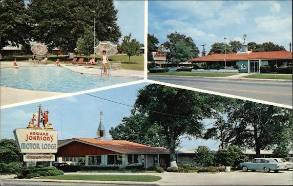 Howard Johnson 39 S Motor Lodge Restaurant Allendale Sc