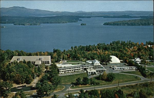 Aerial View of Brickyard Mountain Inn, Route 3 Laconia New Hampshire